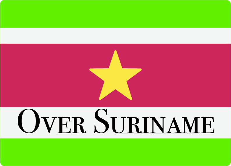 Over Suriname
